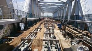 works in progress Guindy Metro and Alandur