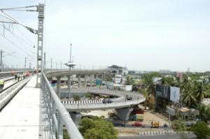 Viaduct over Kathipara bridge (21-05-15)