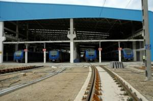Rolling Stock shed Work in Progress (19-05-15)