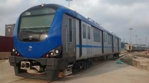 Nineteenth Train reached CMRL depot (28-02-15)