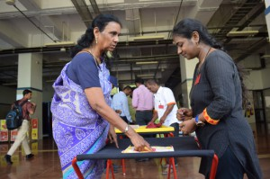 The Month-Long Traditional Games event at Guindy Metro Station.